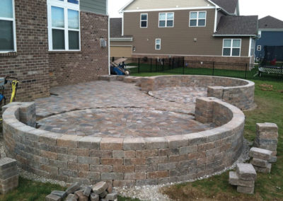 Paver Patio Design & Install - Installation