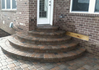 Paver Patio Design & Install - After